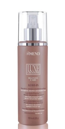 Leave-in Amend Luxe Creations Blonde Care 180ml + Brinde