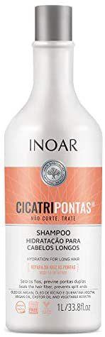Shampoo Cicatripontas 1000ml Inoar Envio imediato
