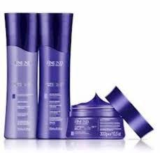 Kit Amend Specialist Blonde shampoo, Condicionador e mascara