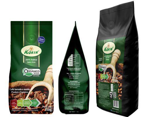 Café Orgânico Korin 250g