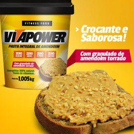 Pasta de Amendoim Integral Granulada 1kg