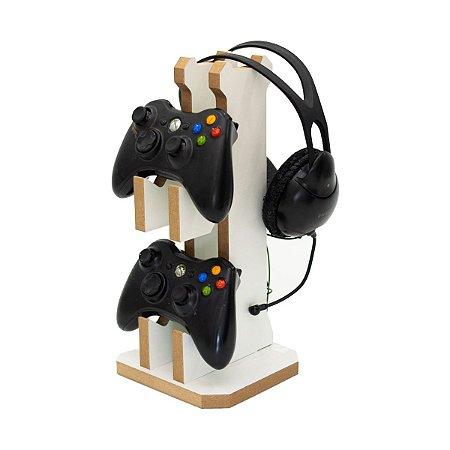 Suporte Gamer De Controle E Headset Para Ps4 Xbox One Ps5