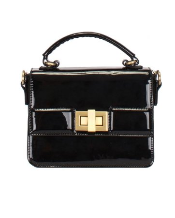 Bolsa Feminina Top Handle Verniz Mormaii - 44723 - Preto