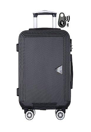 Kit com Mala de Bordo Festo e Localizador Bluetooth Reaggio - com Rodas 360º - Santino - ABGV181-LOC