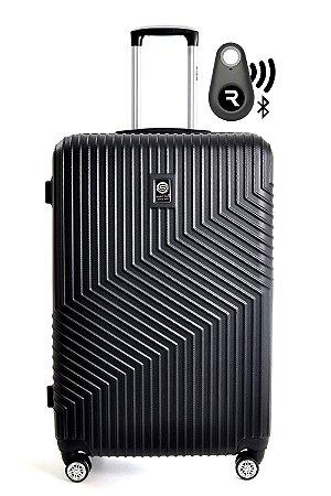 Kit  Mala de Bordo Geometric e Localizador Bluetooth Reaggio com Rodas 360º  - Santino