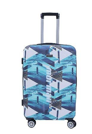 Mala de Viagem Mormaii Estampada Pequena 20 Polegadas - MOV191 - Azul