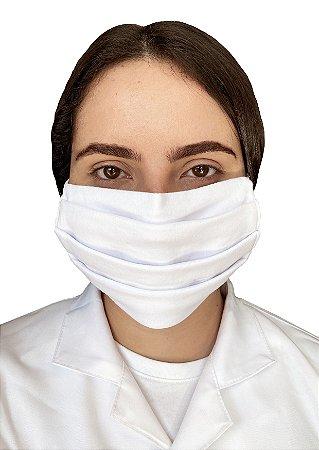 Kit com 3 Máscaras de Tecido - Para Proteção Respiratória - Lavável e Reutilizável