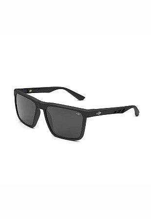 Óculos de Sol Madri Preto - Fosco Cinza - MORMAII