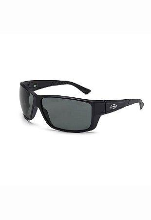 Óculos de Sol Joaca 3 - Mormaii - Preto Fosco e Lente Cinza