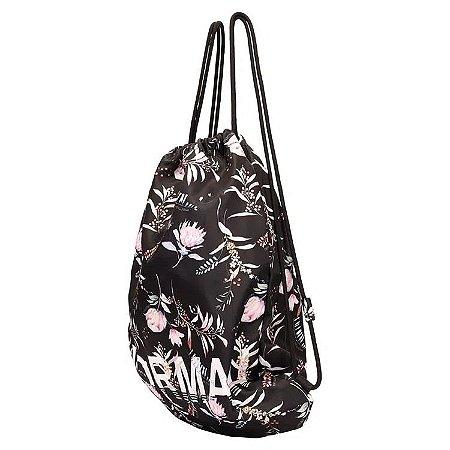 Bolsa Saco Em Nylon Mormaii - Estampada com Flores