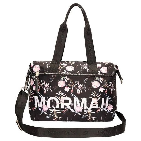Bolsa Shopping Bag De Nylon - Estampada Floral Mormaii
