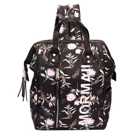 Bolsa Mochila - Mormaii - Nylon Com Estampada Floral