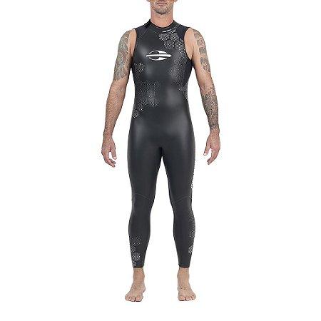 Long John Sem Manga Backzip 3.2mm Triathlon 5a Águas Abertas Mormaii