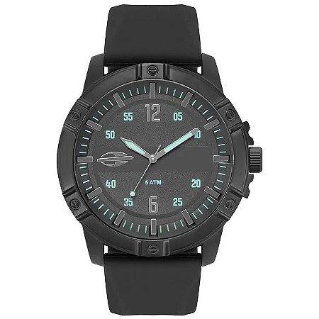 Relógio Mormaii Masculino Steel Basic Preto - Mo2036iq/2p
