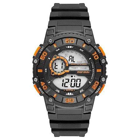 Relógio Mormaii Masculino Wave Preto Mo3260aa/8l