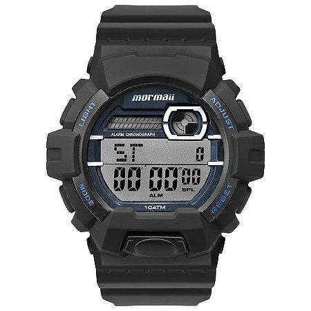 Relógio Digital Mormaii Wave Preto Mo8090ab/8a