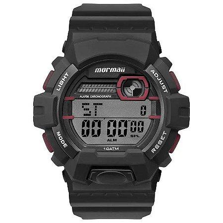 Relógio Digital Mormaii Wave Preto Mo8090ac/8r