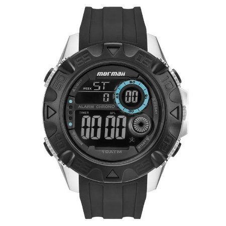 Relógio Digital Mormaii Action Preto Mo9390/8a