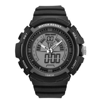 Relógio Anadigi Mormaii Preto Moad089028c