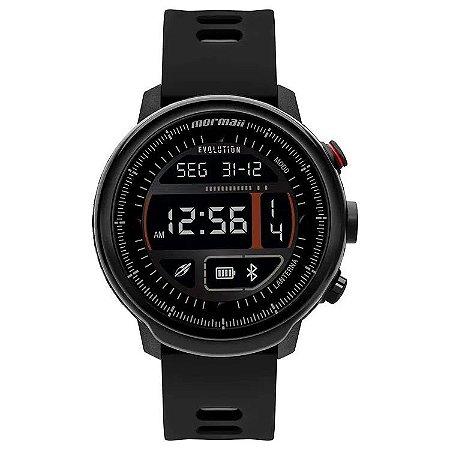 Smartwatch Mormaii Evolution Preto Mol5aa/8p