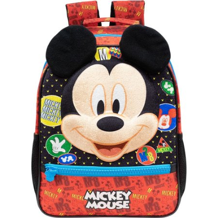 Mochila Infantil Escolar em 3D - Mickey Mouse