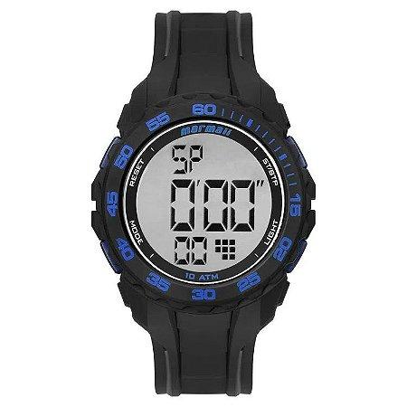 Relógio Digital Mormaii Wave Preto Mo18769aa/8a
