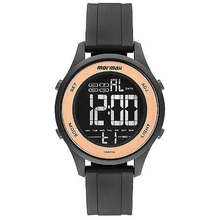 Relógio Digital Mormaii Wave Preto Mo6200/8j