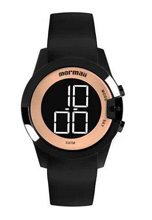 Relógio Digital Mormaii Maui Preto Mo13001a8j