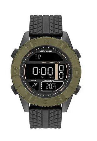 Relógio Digital Mormaii Action Verde Mo5334ab/8v