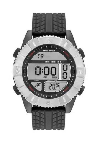 Relógio Mormaii Masculino Action Prata Mo5334ac/8p