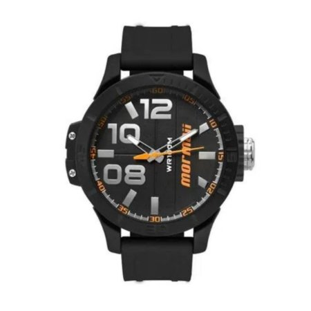 Relógio Analógico - Mormaii Mo2035ie8l - Preto/Laranja