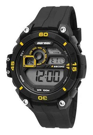 Relógio Mormaii Digital Acqua Wave Mo20198y Preto