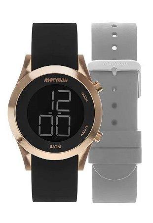 Relógio Digital Mormaii Feminino - MOMD1201AGT8J
