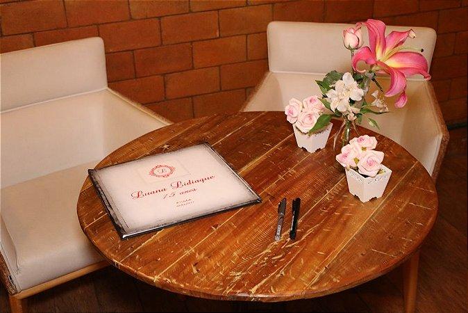 Livro de Assinaturas Debutante Casamento Aniversários com Ensaio Grátis