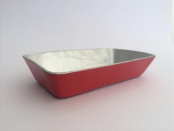 Travessa de Alumínio Fundido 17,6 x 32,5 x 6,5cm (GN 1/3)