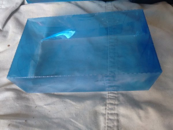20 Caixas de Acetato 15x9x4,5