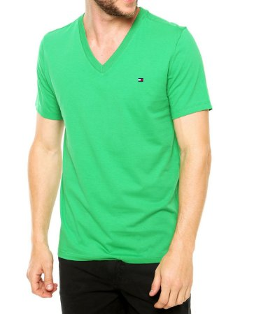 Camiseta Gola V - 1 UN Variadas