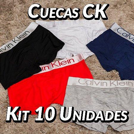 Kit 10 UN - Cueca Calvin Klein