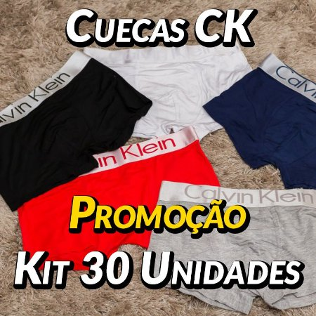 Kit 30 UN - Cueca Calvin Klein
