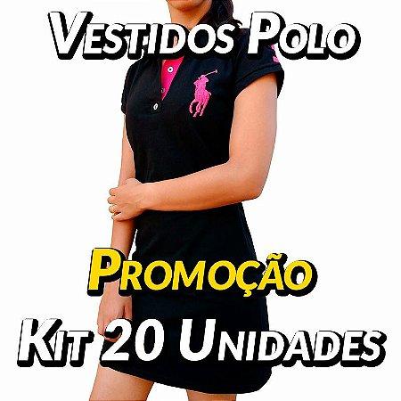 Kit 20 UN - Vestidos Polo Ralph Lauren - Roupas no Atacado