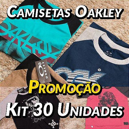 Kit 30 UN - Camisetas Oakley - Roupas no Atacado