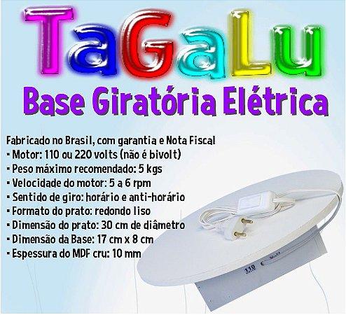 Base Giratória 30cm TaGaLu
