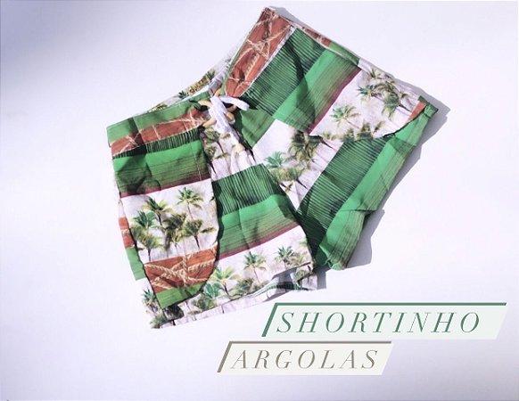 Shortinho Argolas Cod:SHA27 Ler a Descrição!