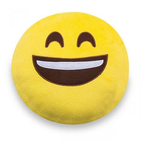 Almofada Decorativa Criativa Ludi Emoji Sorrindo