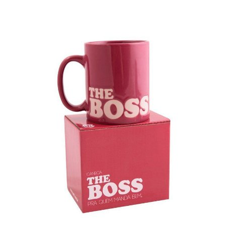 Caneca The Boss Pink 350ml