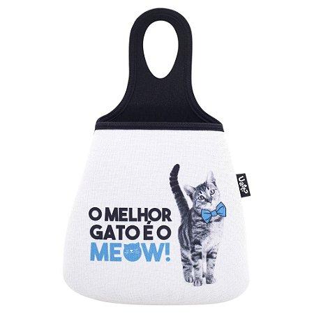 Lixeira para Carro Pet Gato Uatt