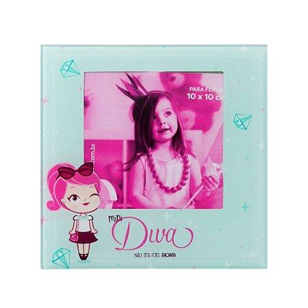 Porta Retrato de Vidro Uatt Mini Diva