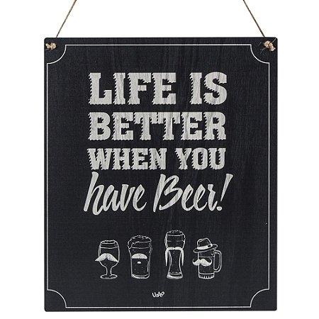 Placa Decorativa Have Beer