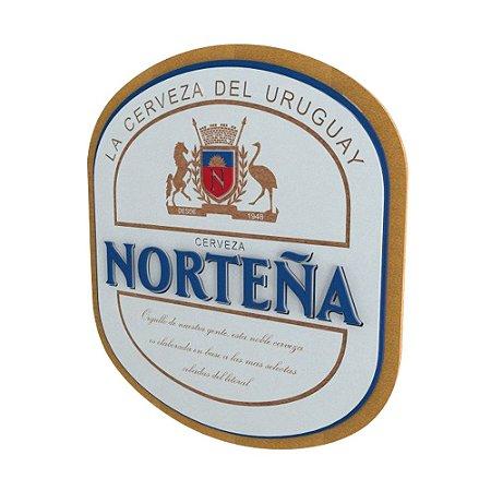 Placa Decorativa MDF Alto Relevo Laqueada Cerveja Norteña