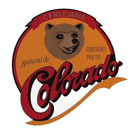 Placa Decorativa MDF Alto Relevo Laqueada Cervejaria Colorado